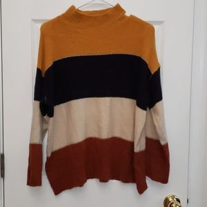 Dress barn turtle neck sweater - size XL